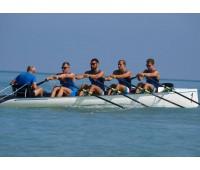 Лодка четверка 4х для прибрежной гребли