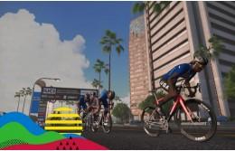 Первые Чемпионы Мира по виртуальному велоспорту