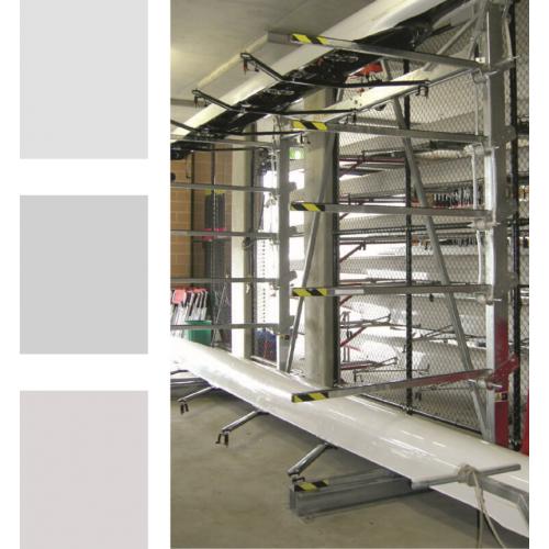 Раздвижные стеллажи для хранения лодок